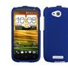 Insten Titanium Solid Dark Blue Phone Case for HTC One VX