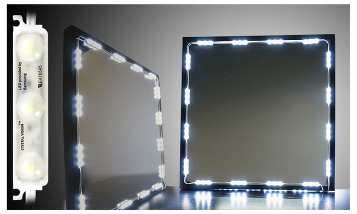 Crystal vision vanity makeup mirror led light provided by samsung mozeypictures Gallery