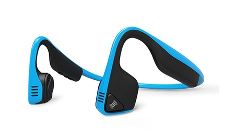 AfterShokz Trekz Titanium Open Ear Wireless Bone Conduction Headphones