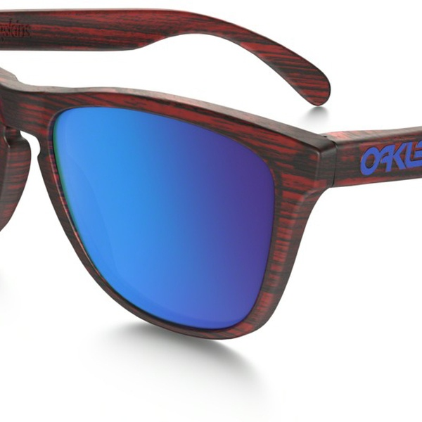 89cea88ce7a3 Oakley Frogskins Driftwood Matte Red Woodgrain - Sunglasses - OO9013-B755 |  Groupon