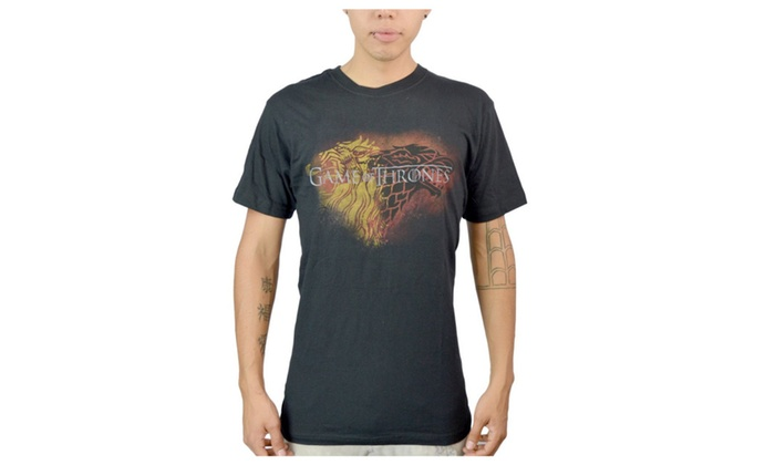 Lannister and Star From Games of Thrones Shirts Sizes S-L