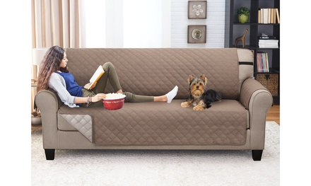 Reversible Furniture Slipcover Protectors: Multiple Sizes & Sets Available