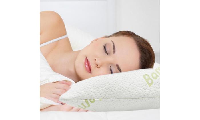 bamboo pillow on groupon