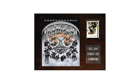 """NHL 12""""x15"""" Los Angeles Kings 2013-2014 Stanley Cup Champions Plaque bce23afb-bde2-41ca-94bb-b68295792498"""