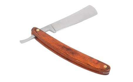 Folding Shaving Wood Handle Knife Straight Edge Razor Steel 2a327bc5-1e70-4409-a523-69e4ac6077cd
