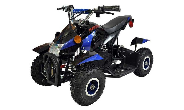 Kids atv quad 4 wheeler ride on battery electric for Motorized 4 wheeler for toddlers