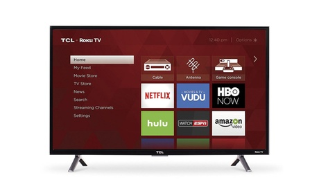TCL 32-Inch 720p Roku Smart LED TV (2017 Model)