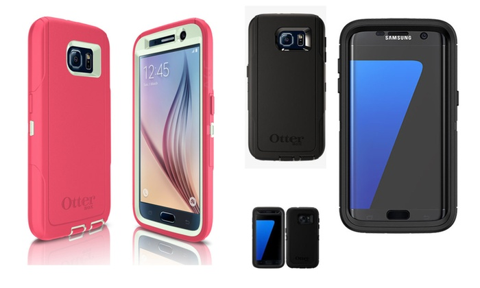quite nice aac44 0f921 Otterbox Defender Case Samsung Galaxy S3/S4/S5/S6/S7/Edge | Groupon