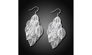 Filigree Multi Leaves Design Women's Earrings