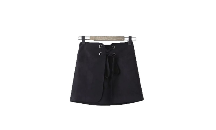 Women's European Style A-Line Casual Casual Solid Skirts
