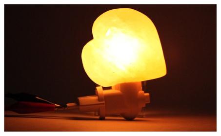 Natural Rock Salt Himalaya Salt Lamp Air Purifier with Wood Base Amber c3fb6beb-95e2-4581-a1d0-c2e9521287b7