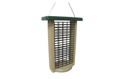 Birds Choice SNDSF Recycled Double Cake Suet Feeder (Goods For The Home Patio & Garden Bird Feeders & Food) photo