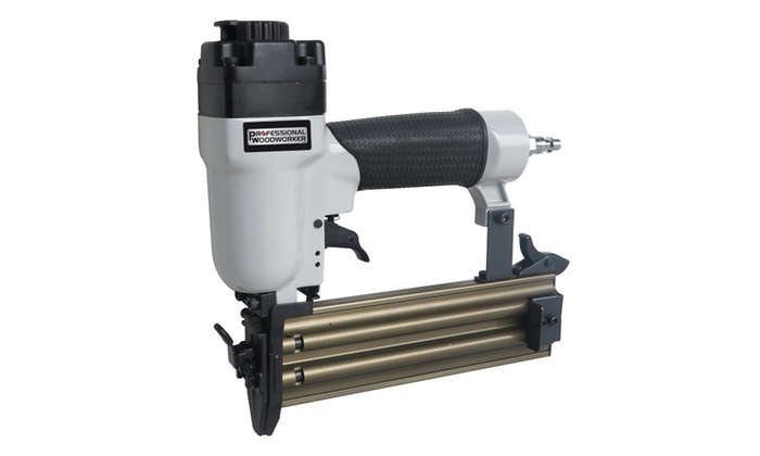 Professional woodworker brad nailer groupon for Fine woodworking magazine discount