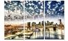 New York City - Manhattan Skyline - Cityscape Photo Metal Wall Art