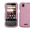 Insten Pink Diamante Case (Diamante 2.0) for MOTOROLA: MB612 (XPRT)