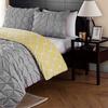 Box Pleat Reversible Duvet Cover or Comforter Set