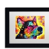Dean Russo 'Zeike' Matted Framed Art