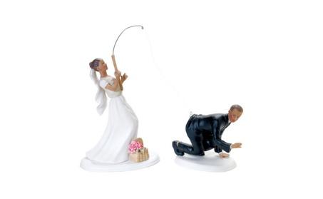 Weddingstar 7103 Fishing Bride Mix & Match Cake Topper a88ffead-2572-4390-965b-9ca5e9994ec6