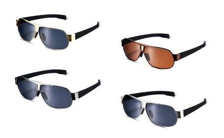 Unisex square metal frame sunglasses 533154c4-aeb0-4191-b399-e26191bcd23a