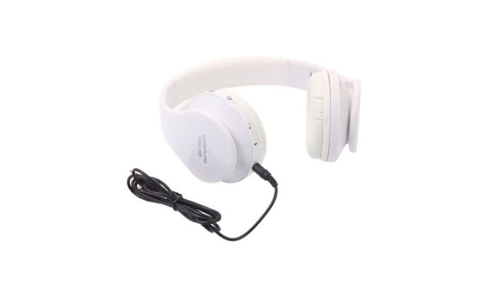 Up To 72 Off On Wireless Bluetooth Headset St Groupon Goods