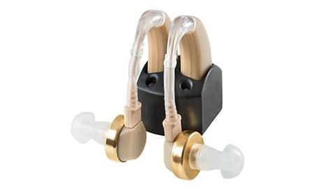 NewEar Rechargable Digital Hearing Amplifier Behind the Ear