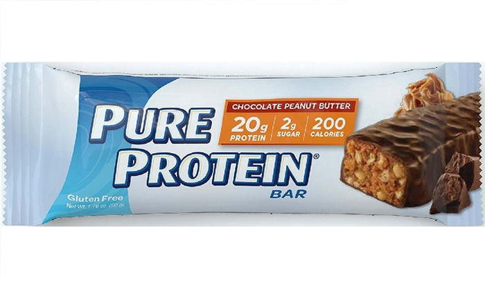 High Protein Bar Chocolate Peanut Butter 176 Ounce Pack Of 12