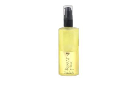Silky serum by Keratin For Hair -repair, hydrate, shine 4 fl oz 18a55b21-78e1-494f-8221-8fac21bcd987