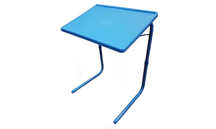 Portable Foldable Tv Tray Table Laptop Stand Adjule Cup Holder