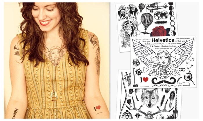 Realistic Temporary Tattoos | Groupon
