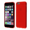 """Insten New Red Circle Frosted Tpu Cover Case For Iphone 6 4.7"""" Inches"""