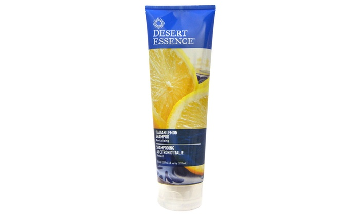 Desert Essence Revitalizing Shampoo Italian Lemon - 8 OZ (Pack of 1)