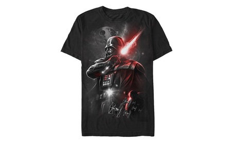 Star Wars Men's Dark Lord Darth Vader Graphic T-Shirt ac5ca3f9-e10c-4b40-8bf8-5f5a731b0820