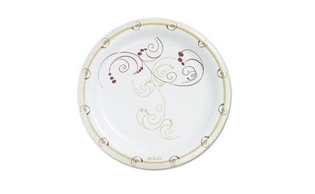 Solo Cup HP9SJ8001PK Symphony Paper Dinnerware Heavyweight Plate 27337503-65e3-48cd-8de1-eede77721128