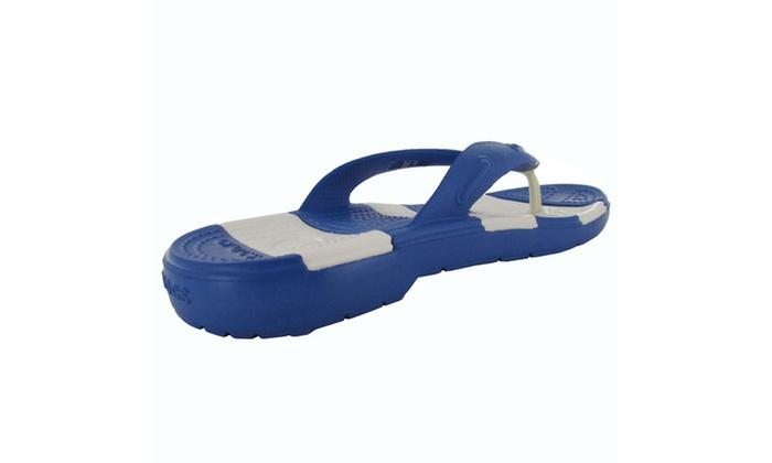 c0a9f999ef181 Up To 27% Off on Crocs Mens Beach Line Flip Fl...