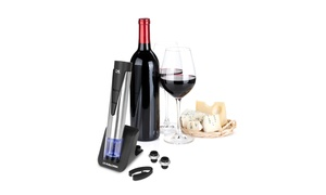Kalorik 2-in-1 Stainless Steel Wine Opener and Preserver