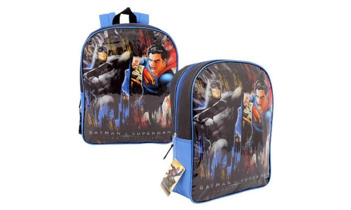 """DC Comics Batman v Superman Backpack - 15"""""""