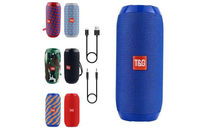 Wireless Bluetooth Speaker Waterproof Outdoor Stereo Bass USB//TF//FM Radio Audio