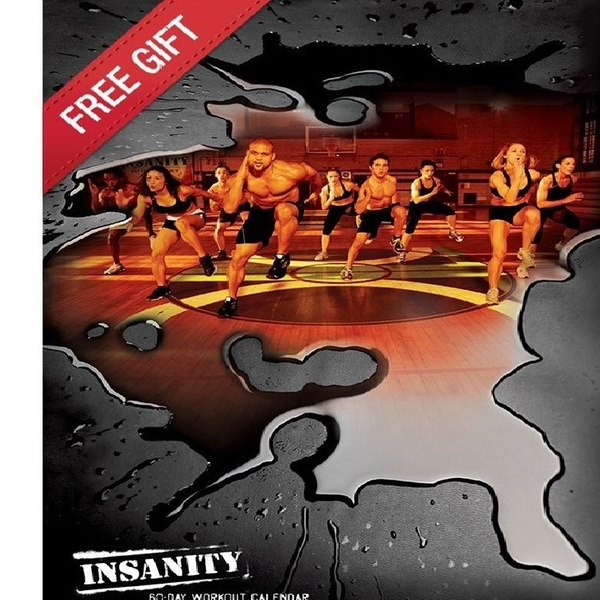 Insanity 60 Day Fitness Workout Program Deluxe Kit Complete 13 Dvd Set