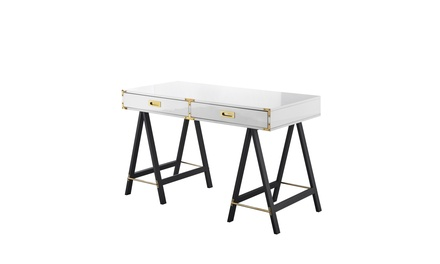 Alene Writing Desk with 2 Drawers