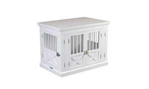 Triple Door Dog Crate White medium