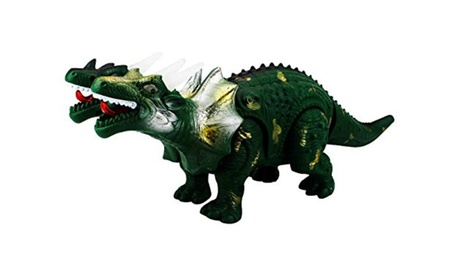 Prehistoric Dinos 2-Headed Dragon Battery Op Walking Toy Dinosaur (Colors Vary) e1fb8c3a-eea3-4753-8c63-6e99cfc2845c
