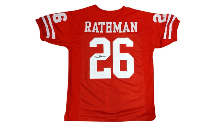tom rathman jersey