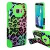 Insten Leopard Hard Hybrid Case For Samsung Galaxy S6 Edge Plus