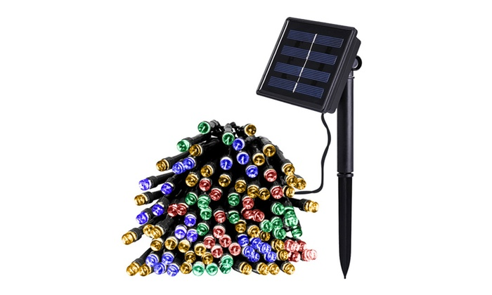 Outdoor Solar Power Decorative String Lights - MultiColor