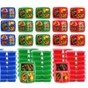 Meal Prep Bento Lunch Box with Lid (12-Pack)