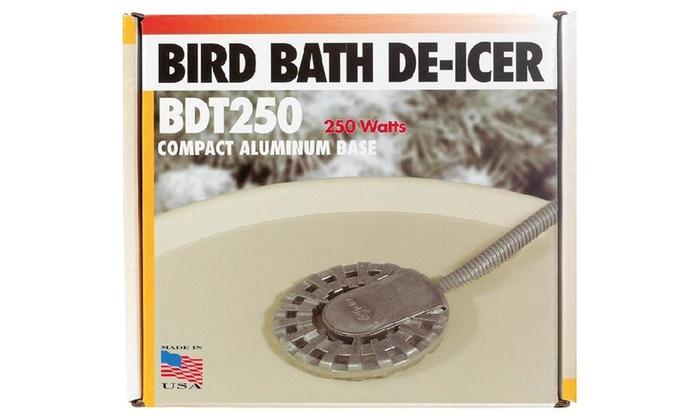 Api Bdt250 Bird Bath De-icer, 250 Watts, 120 Volt