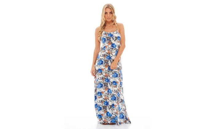 AX Paris Women's Bold Print Maxi Dress