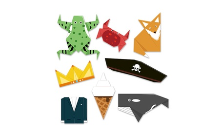 Children Animal/Life Element Handmade Origami Puzzle Learning Toy Gift eab0faa4-799c-4254-9c38-9c447930950c