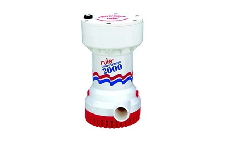RULE 53S 2000 G.P.H. Automatic Bilge Pump 12 Volt photo