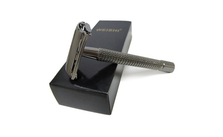 Long Handle Version Butterfly Open Double Edge Safety Razor 318bba94-899c-4b69-a76a-70f00405a35c